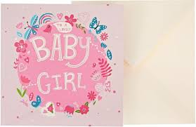 baby congratulations cards j g greeting cards baby girl card multi color souq uae