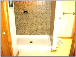 tile shower pan kit ready