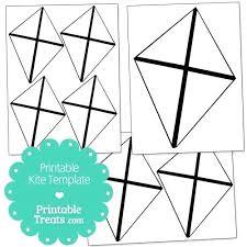 Free Printable Kite Template Raffle Board Templates Hetero Co