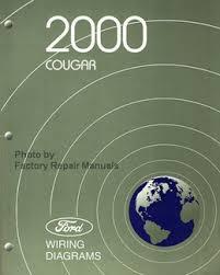 mercury service manuals ford shop repair books factory repair 2000 cougar ford wiring diagrams