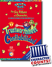 trustworthiness honesty lesson plan six pillars of character the video