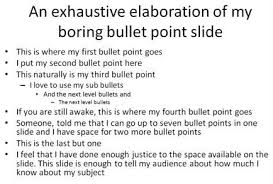 Memorandums And Letters Powerpoint Death By Powerpoint Or Can We Live Without Bullets