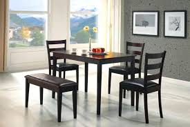 full image for perfect for an apartment or small dining room this five piece bench set