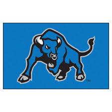 fanmats ncaa state university of new york at buffalo blue 5 ft x 8 ft