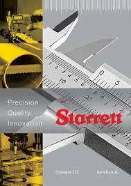 Starrett Hole Saw Size Chart Starrett Catalogue 32e By The L S Starrett Company Ltd Issuu