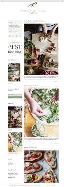 Recipe Blog Templates Barca Fontanacountryinn Com