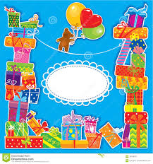 free childrens birthday cards baby birthday card for boy stock vector image of background