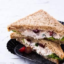 Chicken Black Grape Sandwich