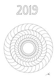 Il Mandalario Un Calendario Tutto Da Colorare Mandalaweb