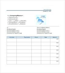 Invoice Template For Hours Worked Sample Invoice For Hours Worked Spidervalve Invoice