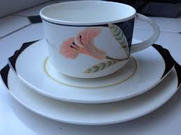 Decorative Cups And Saucers VILLEROY BOCH Porcelain PATTERN IRIS Decorative Cup Saucer Plate 12