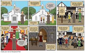 martin luther and the theses storyboard by mhuq