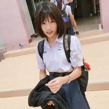 สาวมอปลายตวเลกผมสนหนามานารกมาแ Student Cute