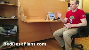 diy wall bed with desk. DIY Murphy Bed Desk Combo Plans Diy Wall With U