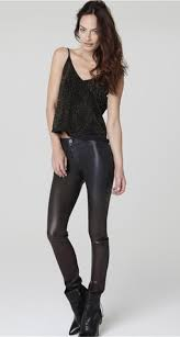 high waisted black faux leather skinny jeans jpg