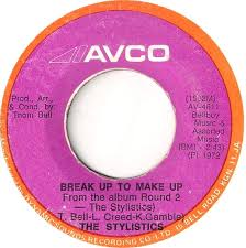 45cat the stylistics break up to make up you and me avco jamaica av 4611