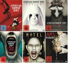 American Horror Story Staffel 1-6 (1+2+3+4+5+6) / DVD Set: Amazon.de:  Jessica Lange, Evan Peters, Connie Britton, Dylan McDermott, Taissa  Farmiga, Alfonso Gomez-Rejon, David Semel: DVD & Blu-ray