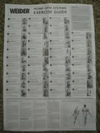 Weider 2980x Exercise Chart Download Weider 2980x Exercise Chart Download Weider 2980 Home