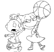 90s Nickelodeon Coloring Pages