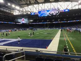Ford Field Section 119 Detroit Lions Rateyourseats Com