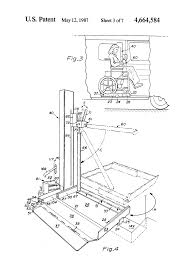patent us4664584 rotary wheelchair lift google patents Ricon Wheelchair Lift Wiring Diagram Ricon Wheelchair Lift Wiring Diagram #17 ricon wheelchair lift pendant wiring diagram