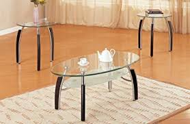 3PCS COFFEE /END TABLE SET: Kitchen & Dining - Amazon.com