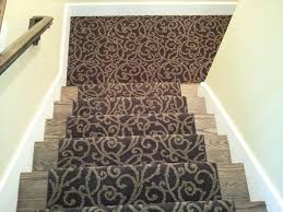 masland black carpet installed on stairs as runner in leawood ks