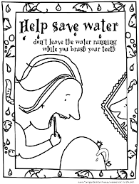 Small Picture Help Save Water Coloring Page Teacherplanetcom