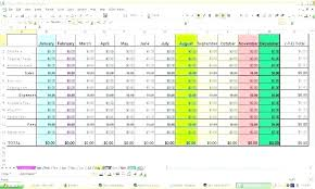 Expense Spreadsheet Template Excel Sample Excel Expense Spreadsheet Family Monthly Budget Template