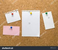 Cork Bulletin Board Cork Bulletin Board Notes Stock Photo 58423378 Shutterstock