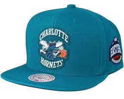 Grass co Mitchell Charlotte Teal - amp; Hornets Snapback uk Hwc Caps Ness Silicon Hatstore