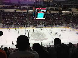 Hershey Bears Giant Center Seating Chart Giant Center Section 206 Row F Seat 3 Hershey Bears Vs
