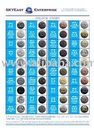 Plating Colour Chart For Metal Accessories Buy Plating Colour Product On Alibaba Com