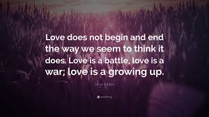 James Baldwin Quote Love Does Not Begin And End The Way We Seem To