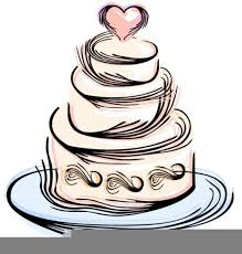 Clipart Icon Wedding Cake Free Images At Clkercom Vector Clip