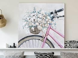 beadle crome interiors bicycle wall art