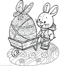 Preschool Easter Coloring Pages Coloring Pages For Kids Easy
