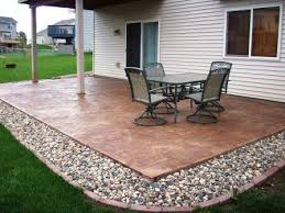 Awesome Simple Concrete Patio Design Ideas Images About
