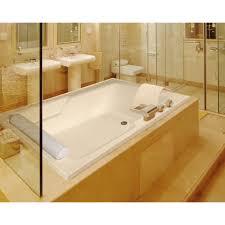 ... Bathtubs Idea, Home Depot Whirlpool Tub Whirlpool Tubs Large Undermount Jacuzzi  Tub With Cream Surrounding ...