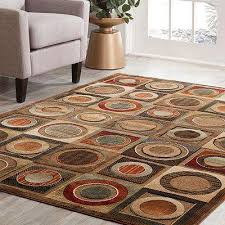 napa leyden brown 5 ft x 8 ft area rug