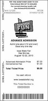 About Fair That Blog Ialottery State What's Tickets