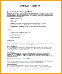 Staff Manual Template Adorable Staff Manual Template