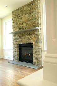 fireplace stone veneer panels installing how to install over vinyl siding venee