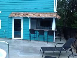 home pool tiki bar. Pool House Tiki Bar. Bar By The Home