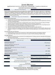 Maintenance Resume Examples Resume Professional Writers Amazing Maintenance Supervisor Resume