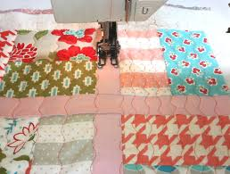 Free-Motion Quilting for Beginners: 10 Tips & Beautiful Fabric Being Quilted on a Sewing Machine Adamdwight.com