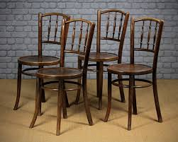 4 bentwood cafe chairs c 1930