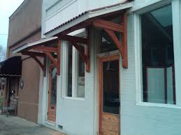 creative design wood door awnings handmade office door awnings by moresun custom woodworking inc