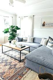 area rug with sectional how to place area rug in front of sectional lovely sectional sofa area rug with sectional best size