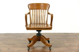 vintage office chair for sale. Vintage Desk Chair Fice Old Wooden On Wheels Eames Office For Sale 20th Century